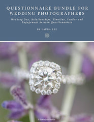 Questionnaire Bundle for Wedding Photographers