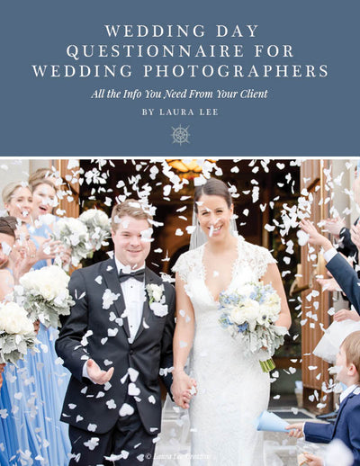 Wedding Day Questionnaire for Wedding Photographers