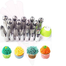 34 Pcs Russian Piping Nozzles + Free Cake Decoration Bible Volume 1 Ebook Instant Download