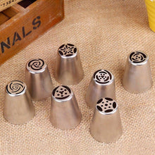 7 Pc Russian Piping Nozzle Tips Set