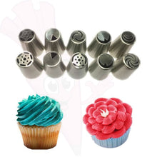 7 Pc Russian Piping Tulip Tips