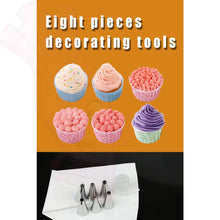 Cupcake Piping Tips - Sugar Cream Icing