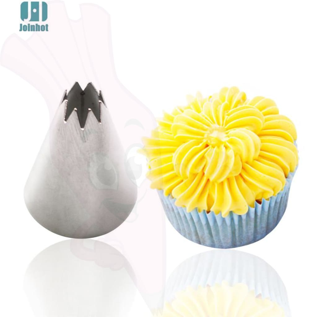 Decoration Set Piping Tip Nozzle - Cupcake Tip