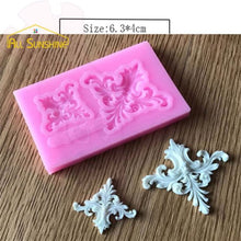 Lace Pattern Border Decor Silicone Cake Mold Type 6
