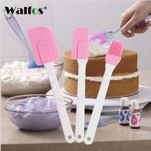 Walfos 3 Piece Spatula Set Silicone Collection