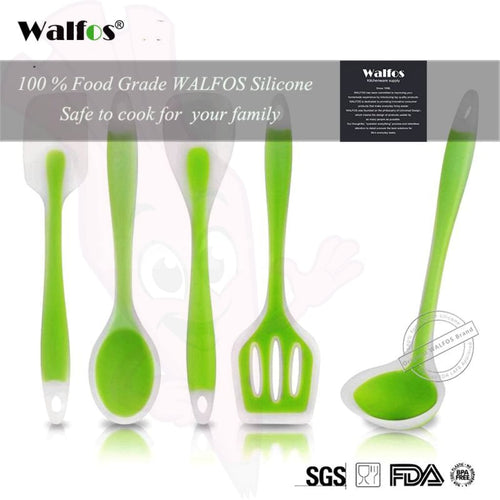 Walfos Utensil Set Silicone Collection