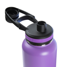 Thermoflask Bottle with Chug Lid and Straw Lid, 32 oz - Available in Five Colors