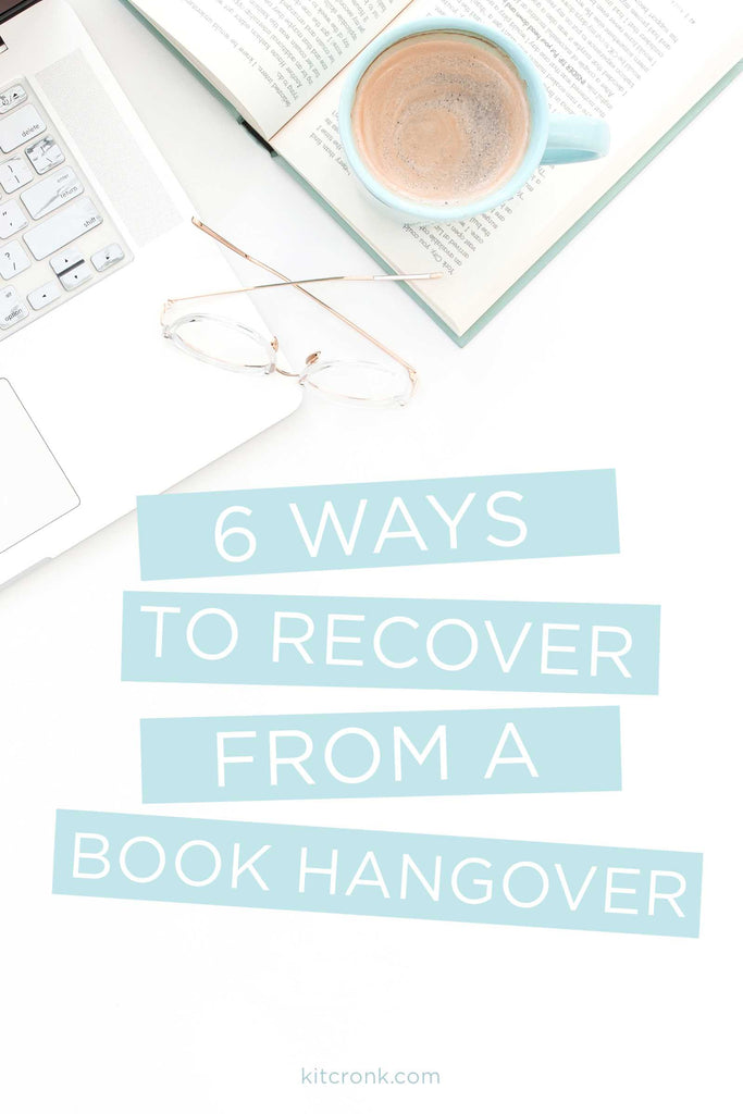 6 Steps to Recover from a Book Hangover