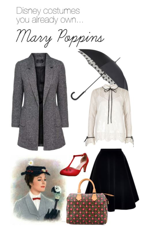DIY Costume - Mary Poppins