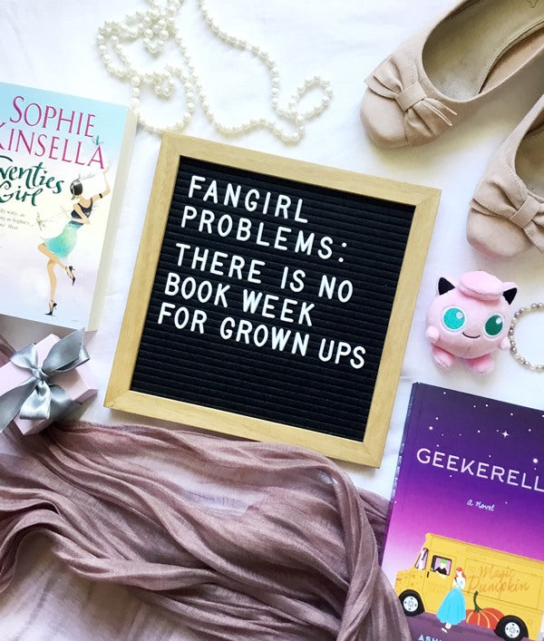 Fangirl Problems - Book Week