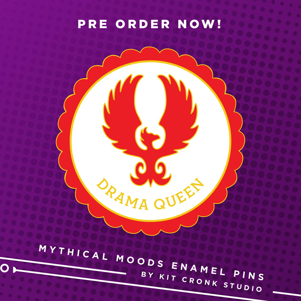 NEW! Mythical Mood pins