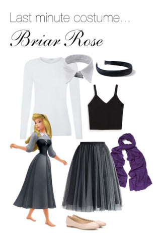 DIY Disney Costume - Briar Rose Sleeping Beauty