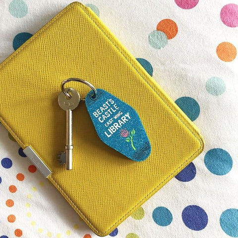 Hungry Designs Belle Keyring