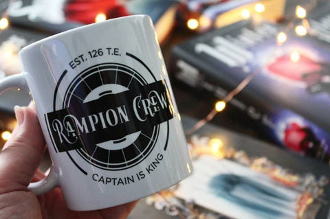 Lunar Chronicles Rampion Fandom Mug Book Lover
