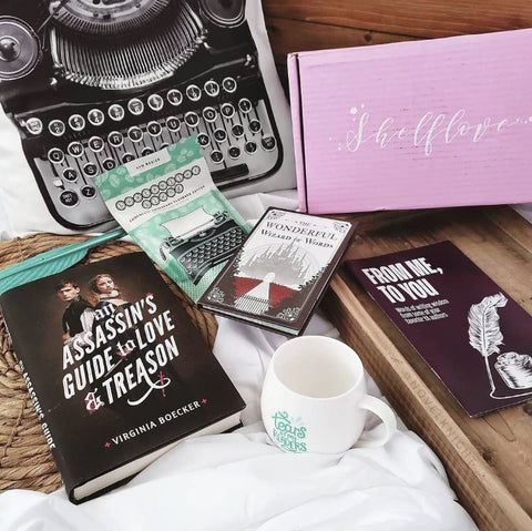 Shelf Love Create Box Haul Writer Gift