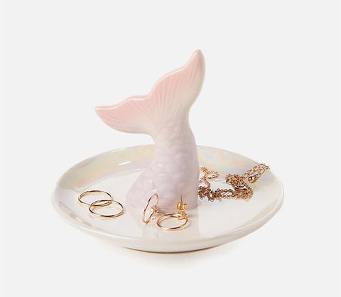 Mermaid Trinket Tray Nerd Girl Gift