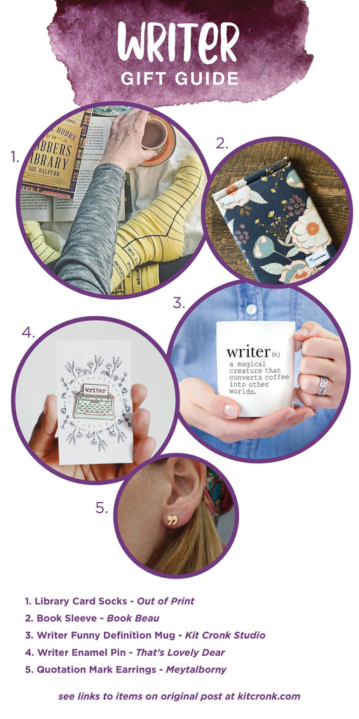 Writer Gift Guide Book Lover Teen Girl Gifts
