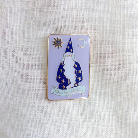 Albus Dumbledore Chocolate Frog Pin by LisaJunius on Etsy