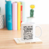 Editor Writer Gift Funny Oxford Comma Mug