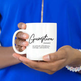 Gumption Definition Coffee Mug Girl Power