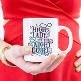 High Lady Of The Night Court Mug - ACOMAF Feyre Archeron