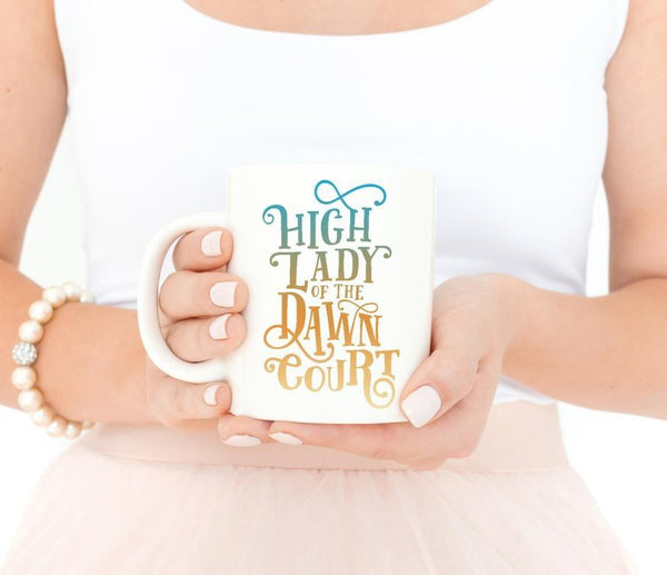 High Lady Dawn Court Mug ACOWAR