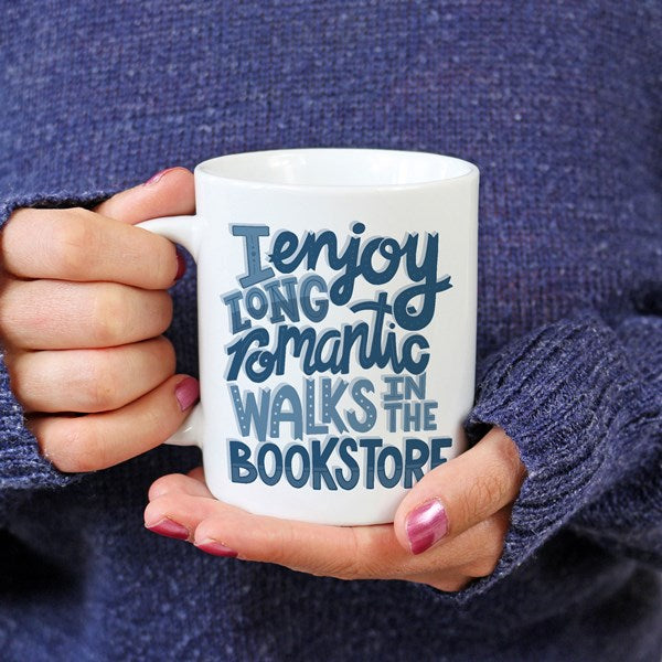 Book reader bookish mug for nerds and female readers