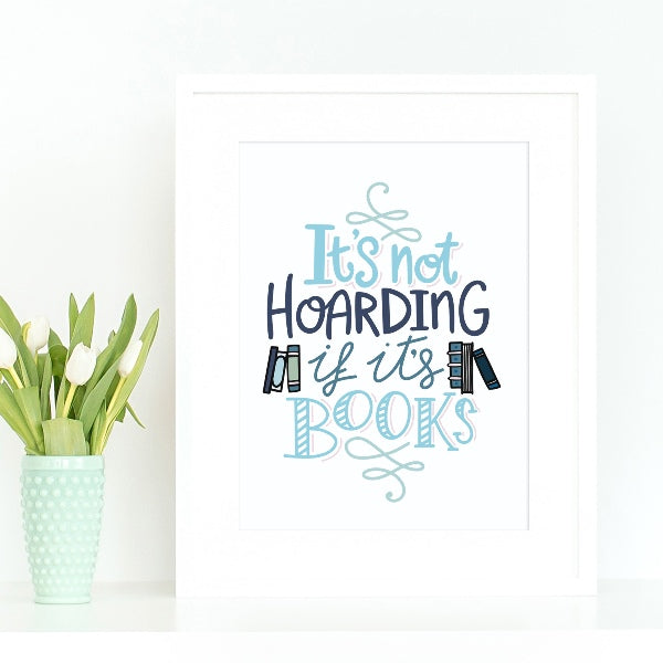 Book reader art for nerds and female readers