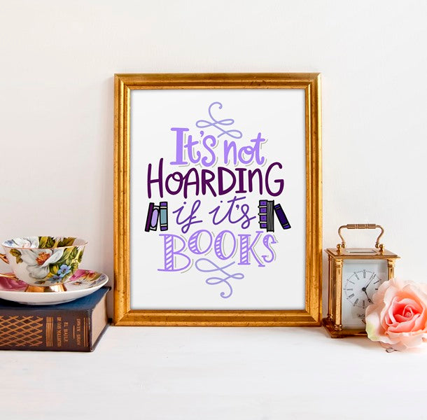 Book Lover Gift Funny Art Print