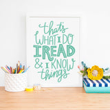 read and know things got tyrion quote print
