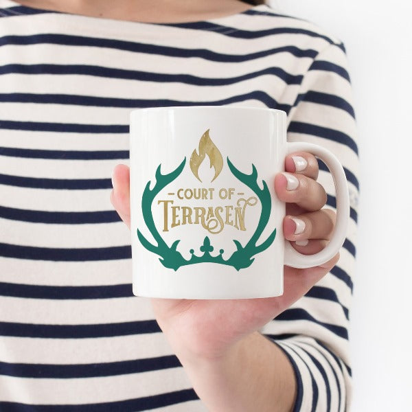 Kingdom of Ash Mug Court Terrasen Throne of Glass
