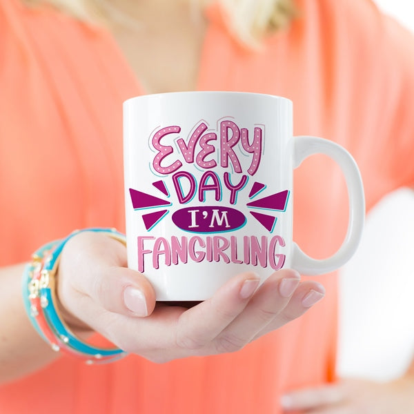 fangirl bookish mug nerds female readers fandom