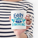 Book Fangirl Teen Girl Gift Quote Mug