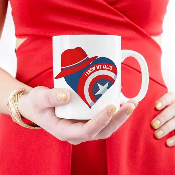 Super Lady Coffee Mug - Peggy