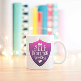 Self Rescuing Princess Geek Girl Mug