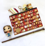 Book Gift Nerdy Girl Bookcase Pattern