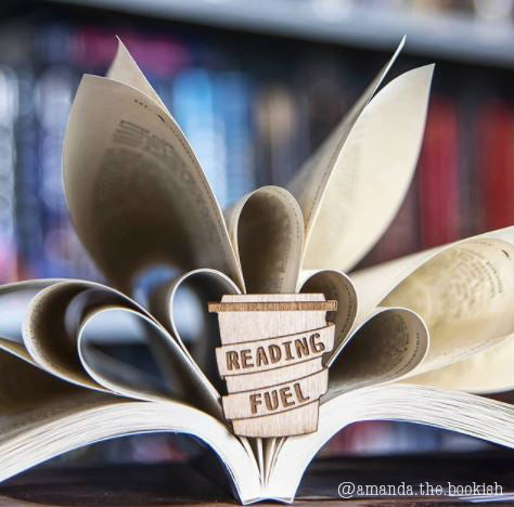 Reading Fuel Book Lover Literary Gift Nerdy Girl Coffee