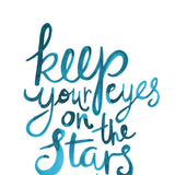 Art Print - Eyes On The Stars