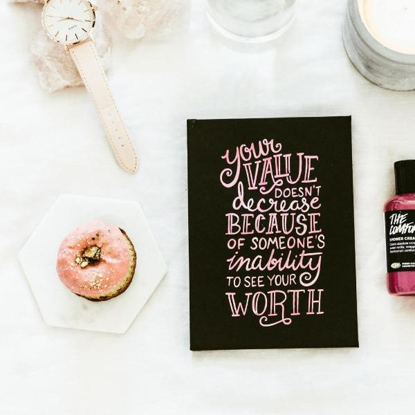 Hardcover Journal - Your Value Quote