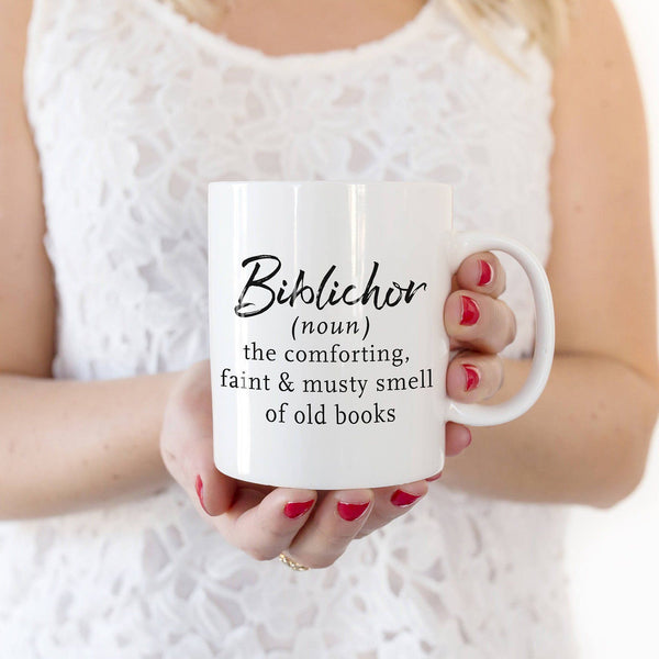 Coffee Mug - Biblichor Book Smell Definition