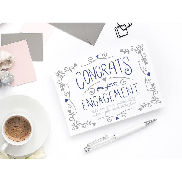 Engagement Card - Congratulations Dibs