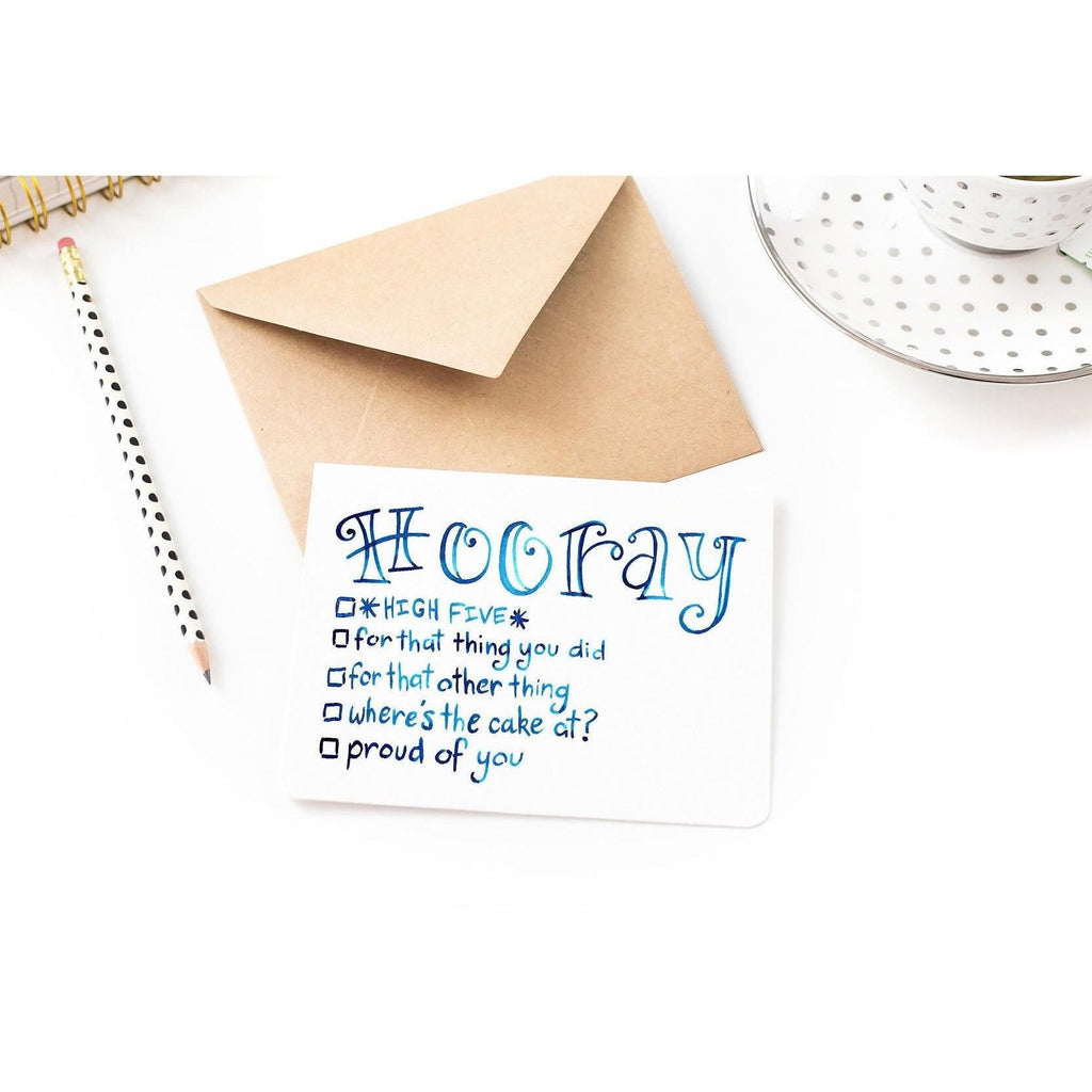 Hooray Card - Checklist Any Occasion