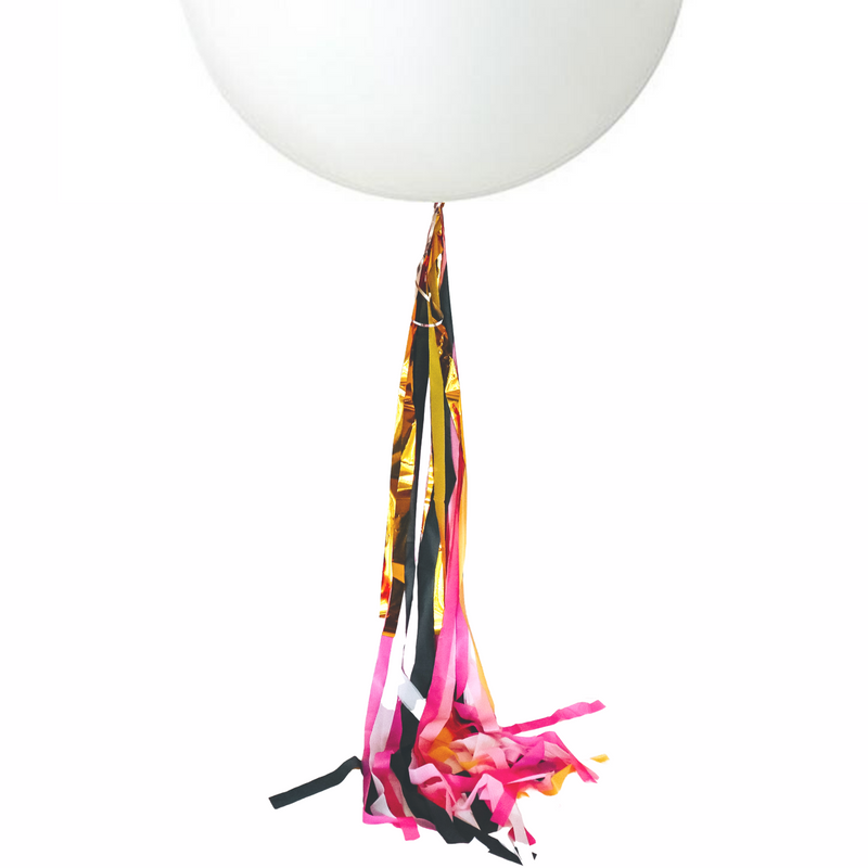 Balloon Streamer Tail Kit - OO LA LA - Balloonies Studio