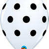 30cm Polka Dots Balloon - Balloonies Studio