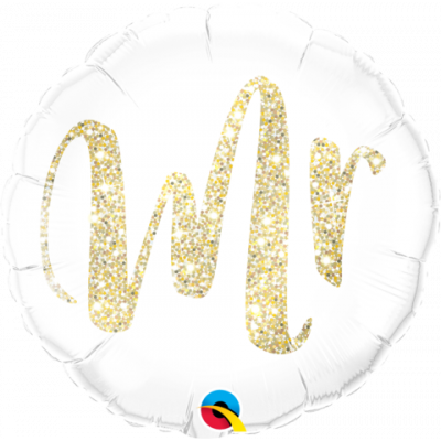 Mr - Glitter Gold - Balloonies Studio