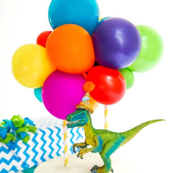 Balloon Cake Topper Kit - Rainbow - Balloonies Studio