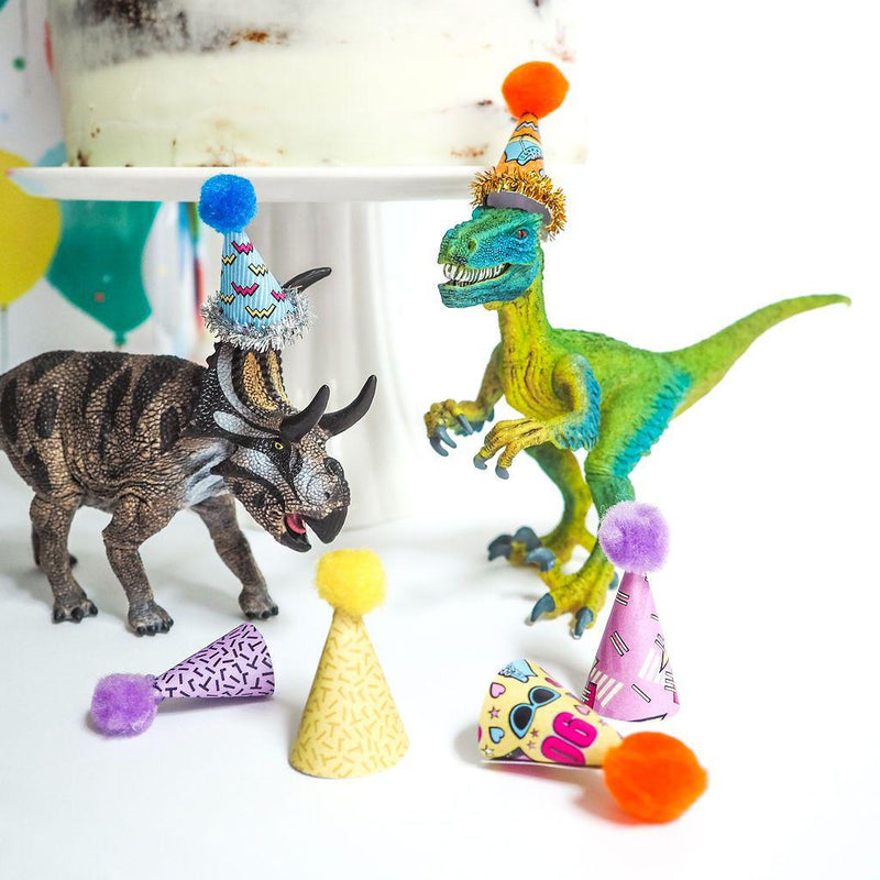 Mini Party Hats for Party Animals - 90's VIBE - Balloonies Studio