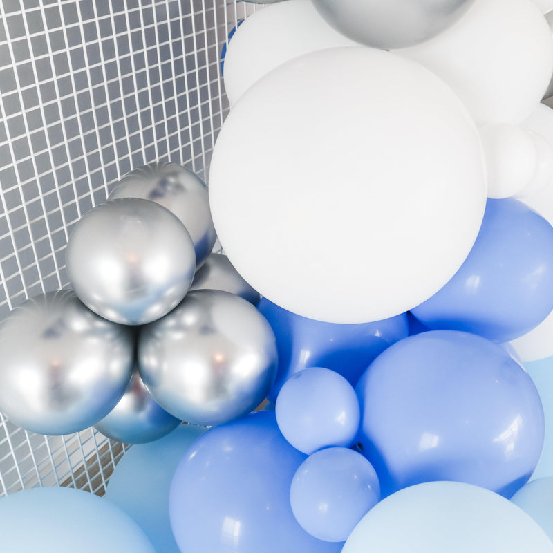 "Balloon Garland Kit ""BLUE OMBRE "" - Balloonies Studio"