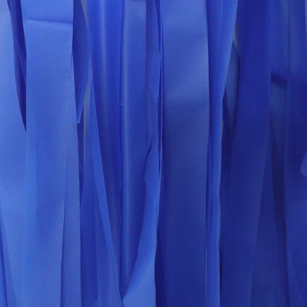 Streamer Hangings - Cobalt Blue - Balloonies Studio