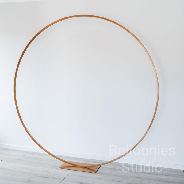 Gold Metal HOOP 2m - Balloonies Studio